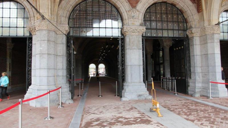 onderdoorgang rijksmuseum fietstunnel