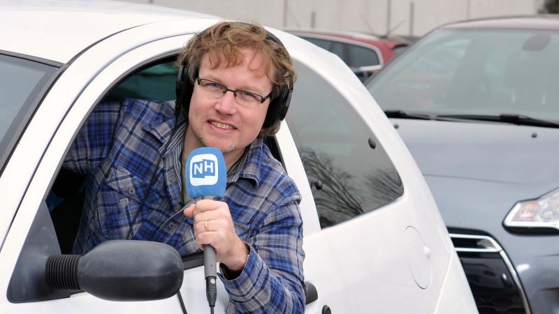 Bernd auto blauwe plopkap
