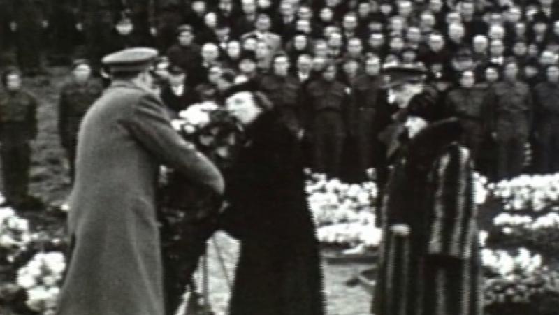 Begrafenis Hannie Schaft