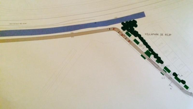 Detail bouwtekening Ontsluitingsweg Oost-Graftdijk