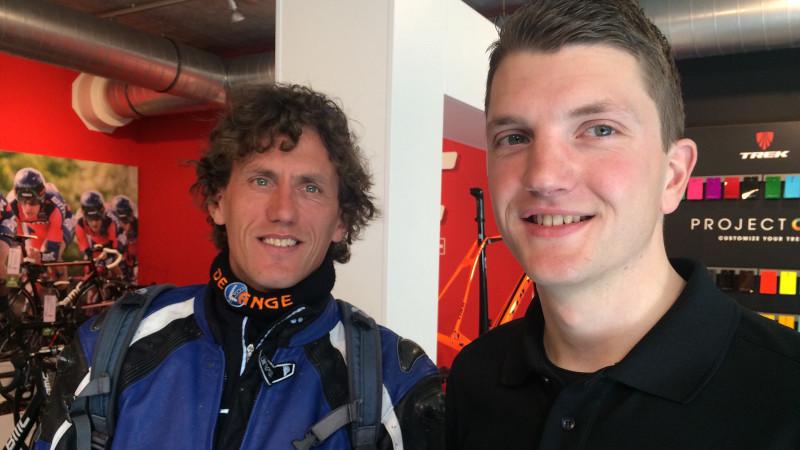 Johan Berga en Martin van de Pol