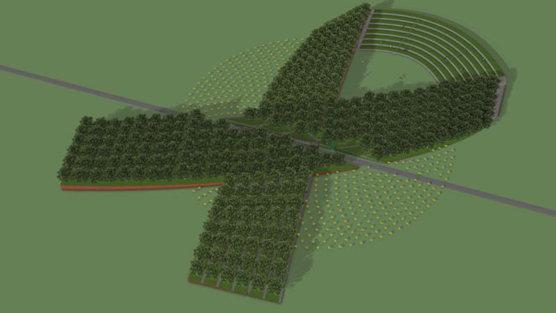 Monument MH17 / Memorial MH17 / Schiphol-Vijfhuizen