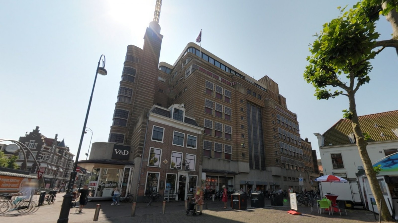 Google Maps - V&D Haarlem Centrum