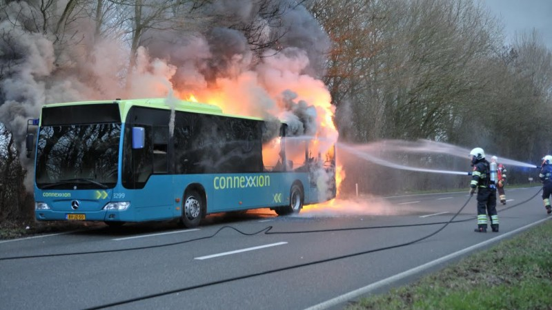 Busbrand Zuid-Scharwoude