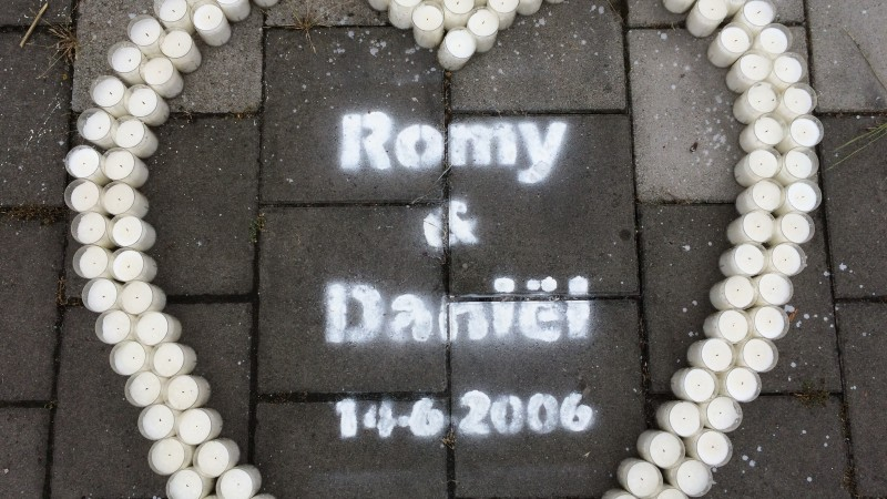 Monument voor Romy en Daniel