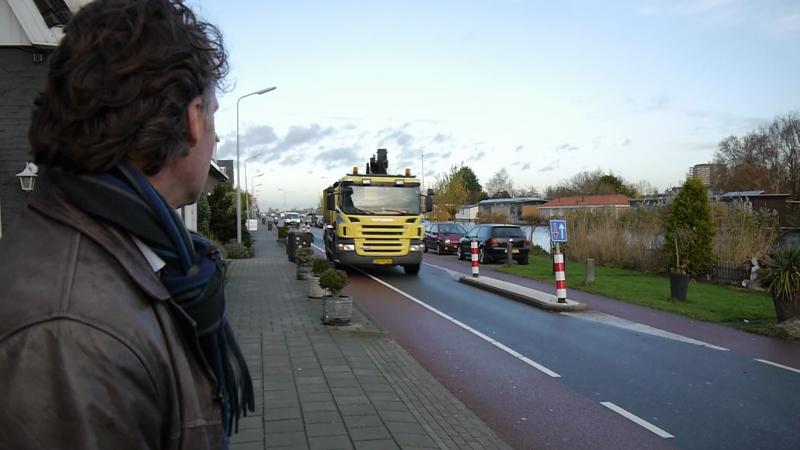 Bewoners Nieuwemeerdijk zijn de gevaarlijke chicanes zat