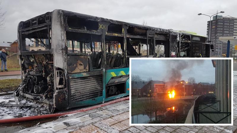 Busuitgebrand Alkmaar
