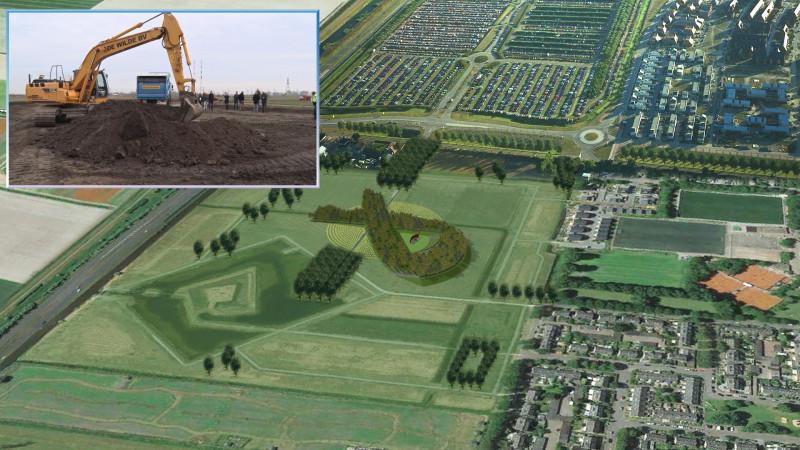 Aanleg MH17 Monument