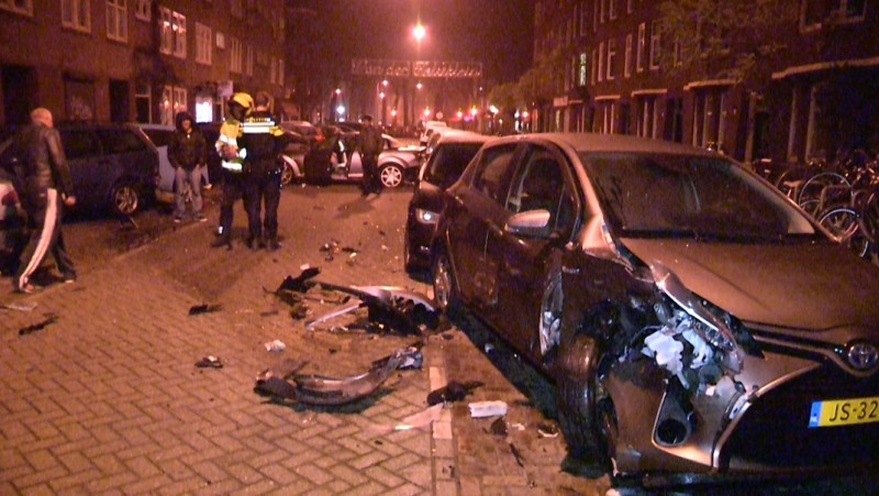 ravage Amsterdamse straat