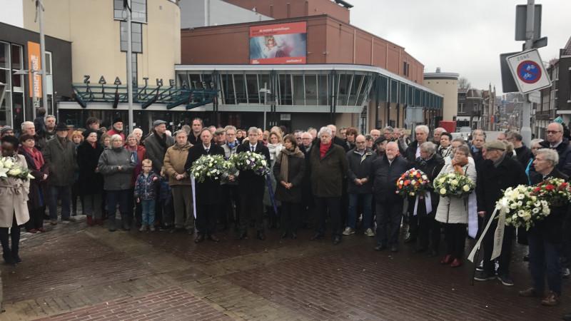 Herdenking februari staking Zaandam