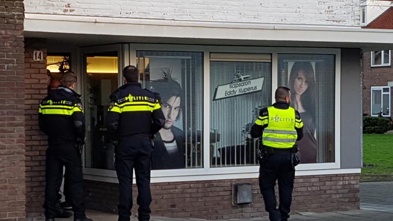 Overval kapsalon Amsterdam