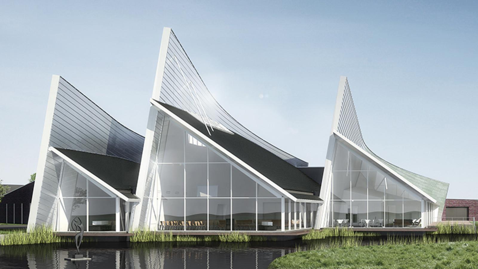 Rietvink architecten bna - zes x zes visuele communicatie