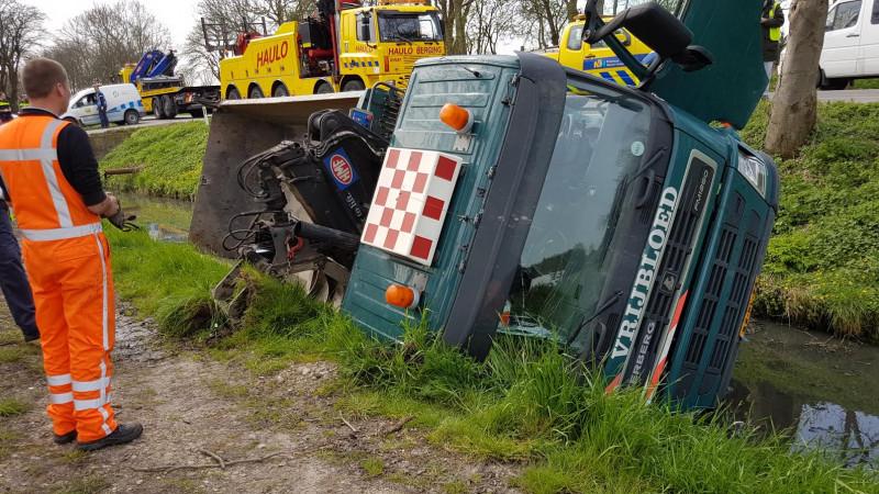 Vrachtwagen te water in Heerhugowaard II
