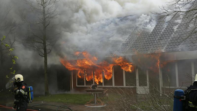 Zeer grote brand in Wieringerwerf II