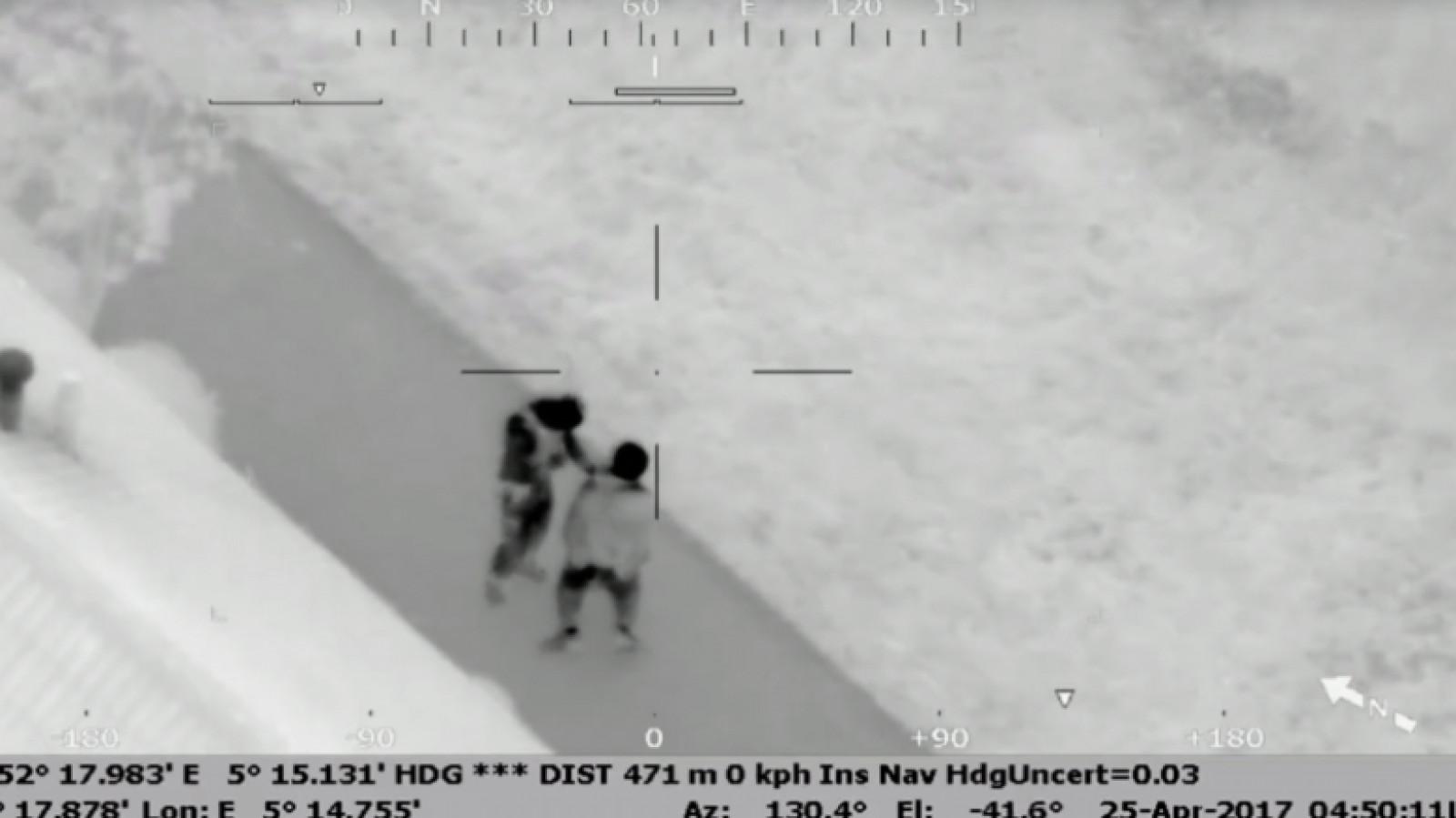 Video Politiehelikopter Speurt Inbrekers Op Na Nachtelijke