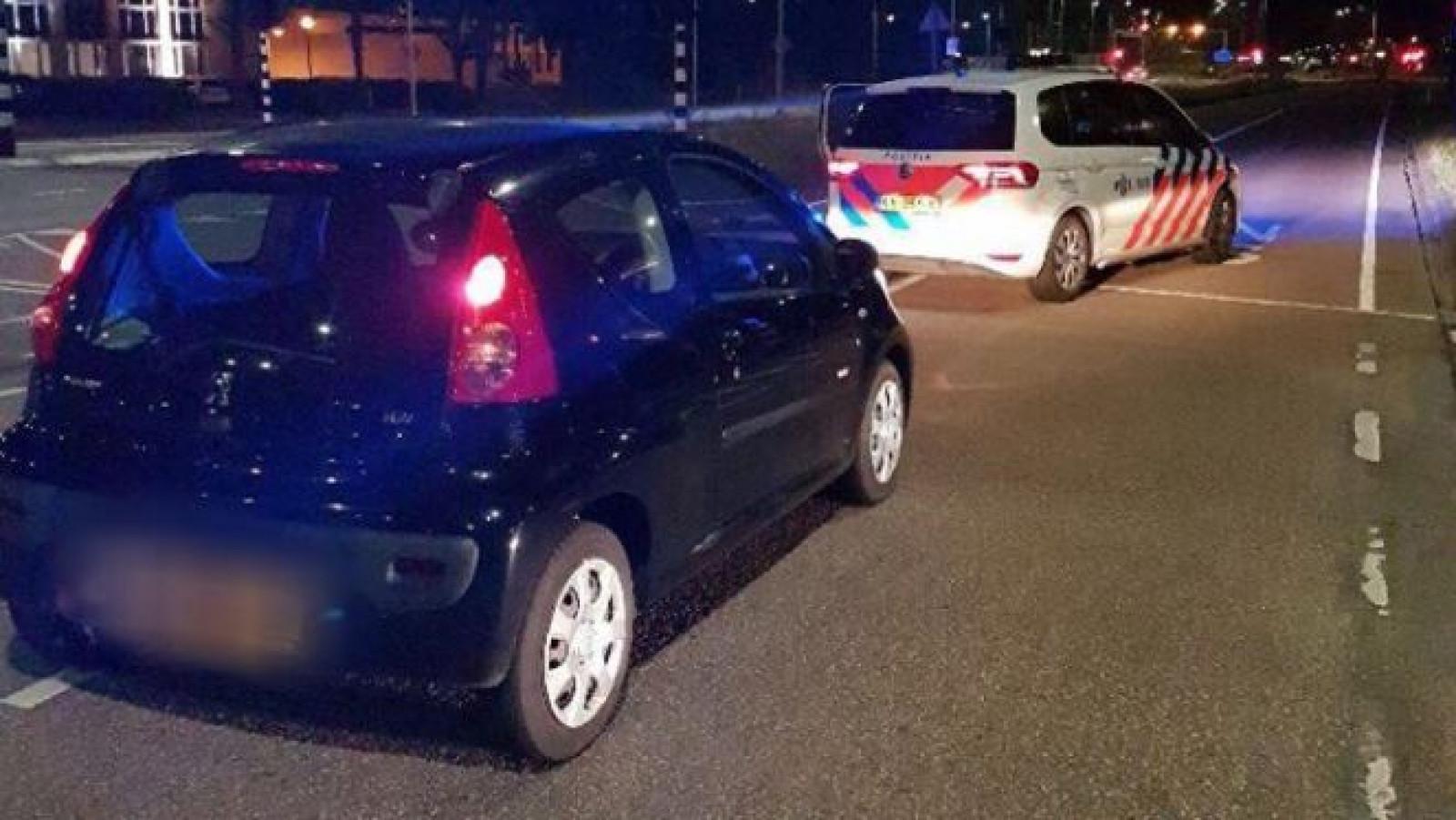 Beschonken Bestuurder Rijdt Zonder Rijbewijs In Gestolen Auto Nh