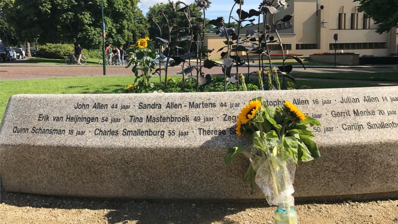 MH17 Monument Hilversum herdenking