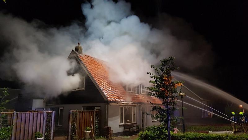 Grote brand Zwaagdijk