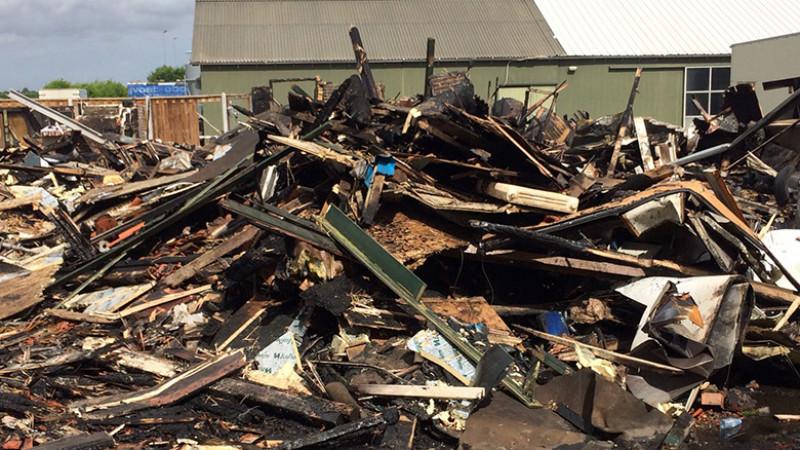 Verwoest huis brand Zwaagdijk
