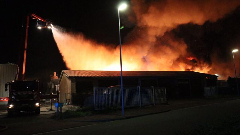 brand Alkmaar