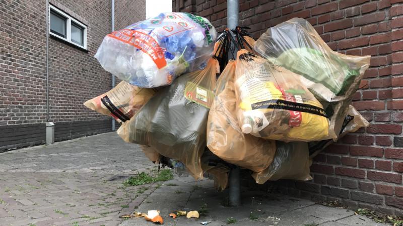 plastic afval den helder