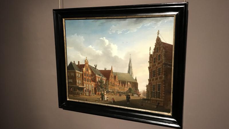 Restauratie schilderij Westfries Museum 5