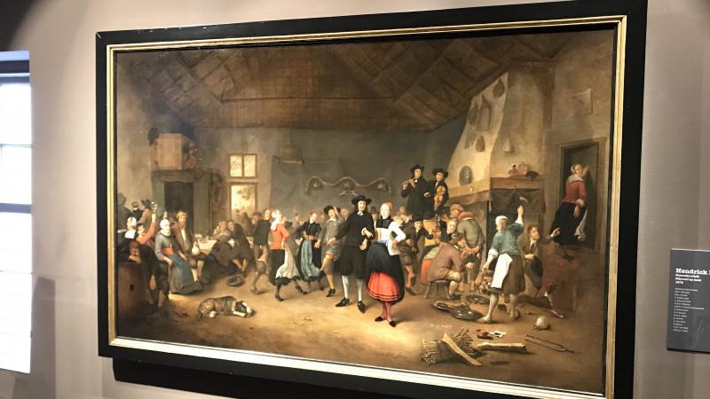 Restauratie schilderij Westfries Museum 4