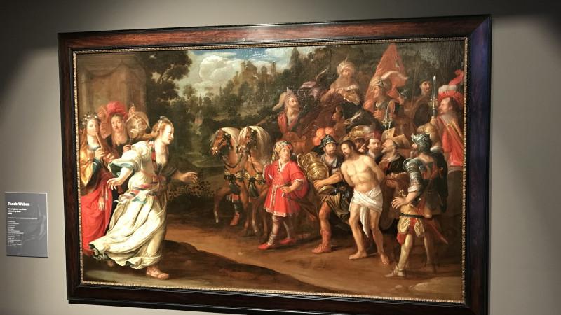 Restauratie schilderij Westfries Museum 2