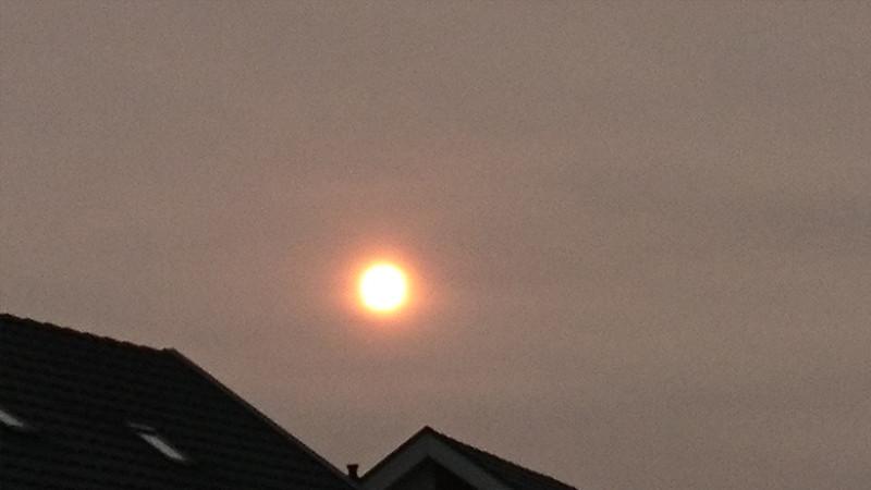 Oranje zon