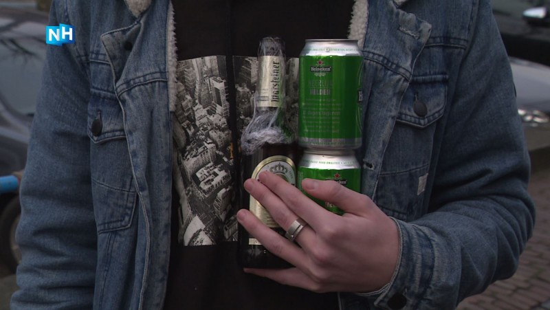 Biertje kopen onder de 16 jaar? Geen probleem in de snackbar