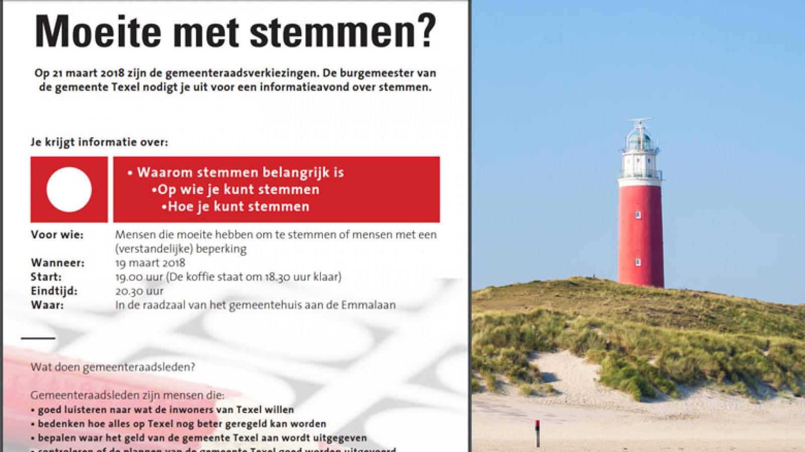 Speciale Informatieavond Over Verkiezingen Op Texel Nh Nieuws