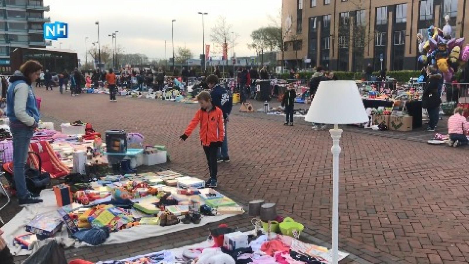 Lampen Bazaar Beverwijk : Vijf uur op voor het beste plekje op de vrijmarkt nh nieuws