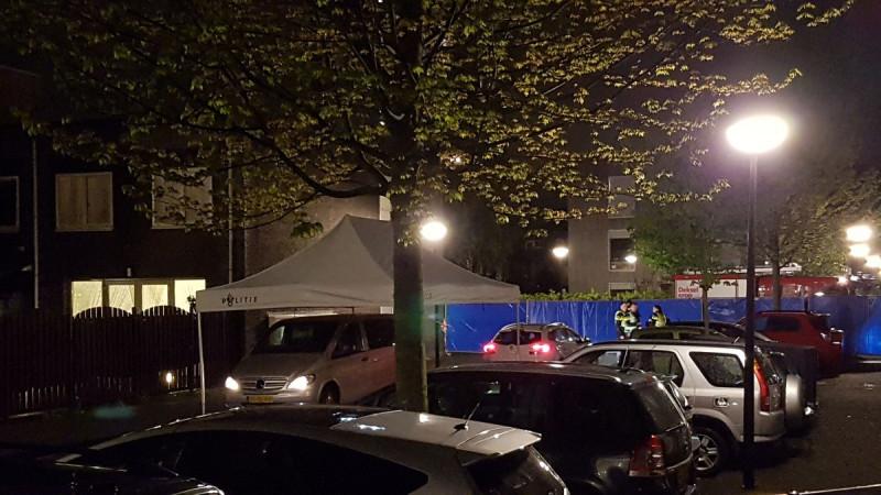 Man doodgeschoten Krootstraat Amsterdam-Zuidoost