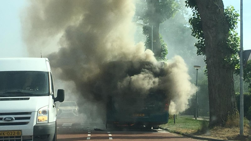 Busbrand Alkmaar