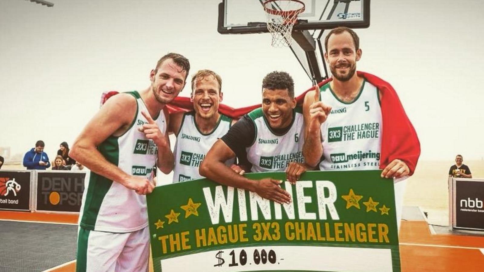 Luka de Kruijf/Nederlandse Basketball Bond
