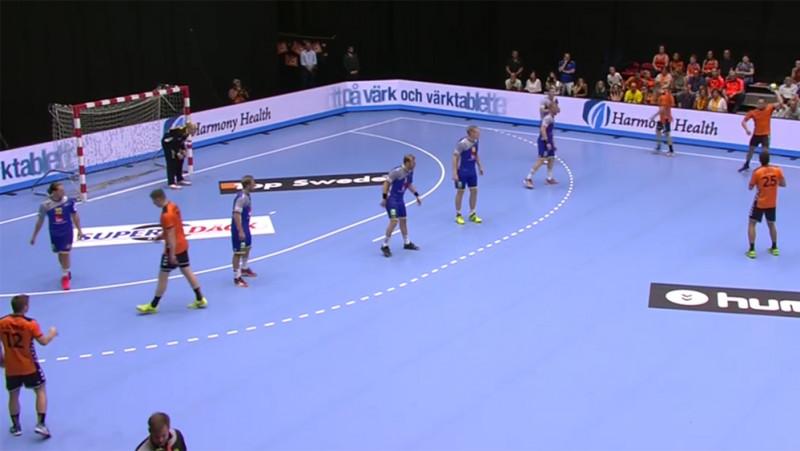 Handbal mannen Nederland - Zweden