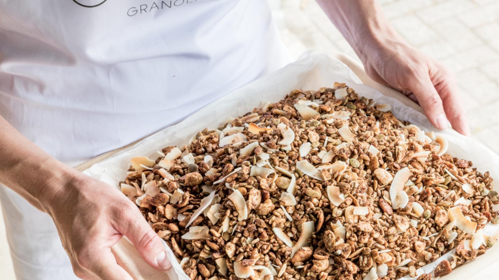 Oot granolaontbijt
