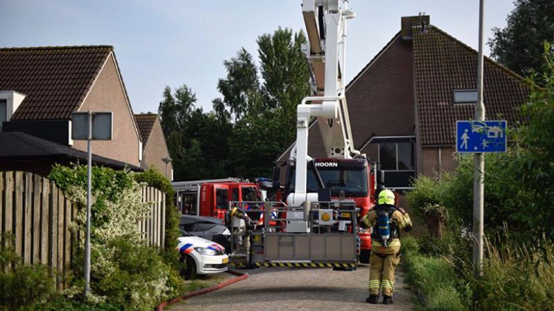 Brand in Wijdenes II