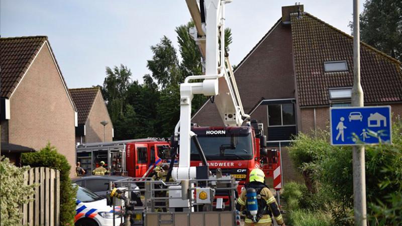Brand in Wijdenes III
