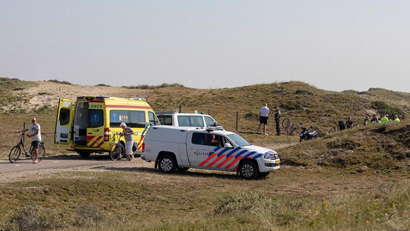 Fietser gewond Zandvoort