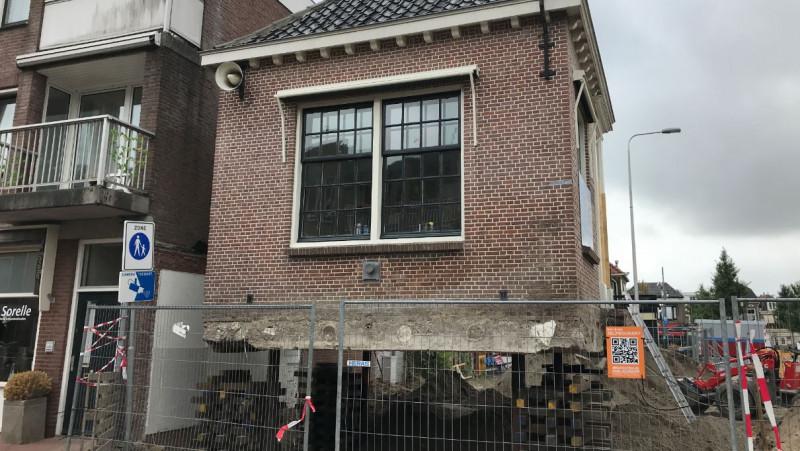 Marktmeestershuisje Purmerend verplaatst