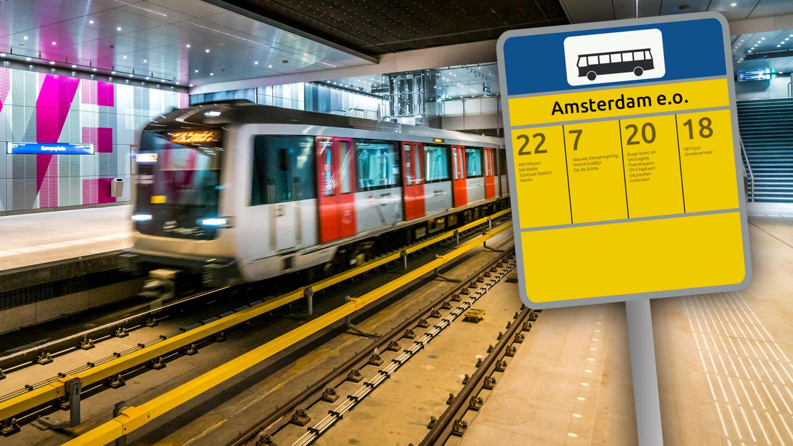 Openbaar Vervoer In Amsterdam En Amstelveen Helemaal Op De