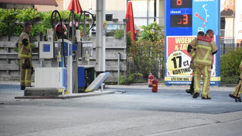 Brand bij TinQ-tankstation Purmerend