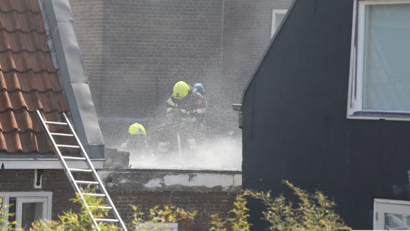 Brand in club Ruis Haarlem