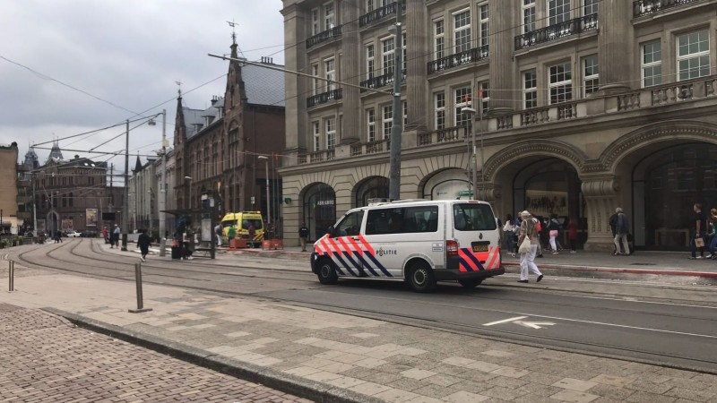 Apple Store Amsterdam Explosie