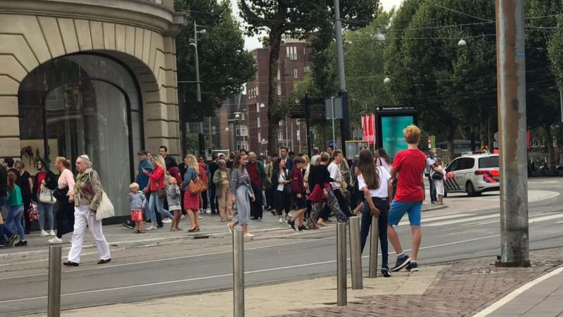 Explosie Apple Store Amsterdam