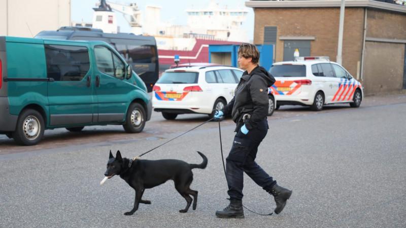 Overval op pand in havengebied IJmuiden