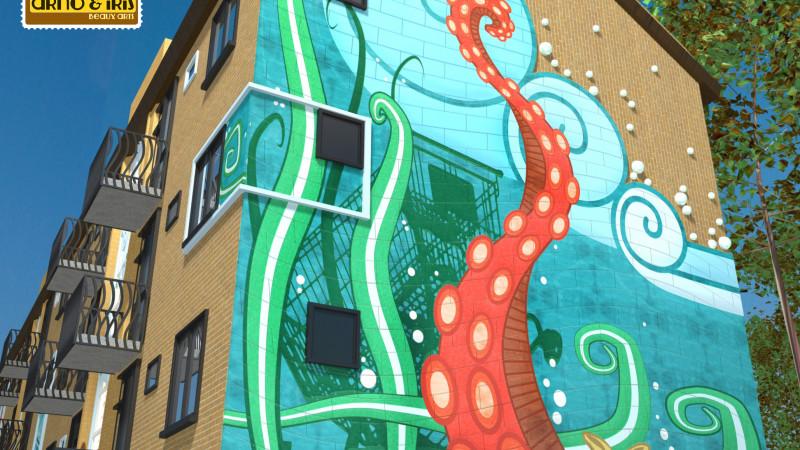 Ontwerp Waddenzeestraat Den Helder Arno&Iris Beaux Arts