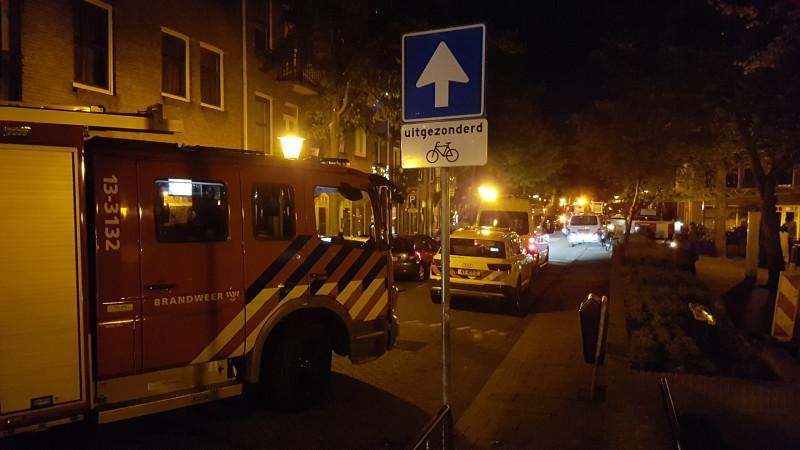 Steekpartij in Amsterdam