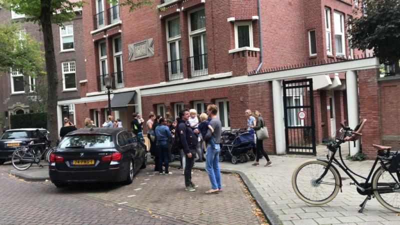 Brand kinderdagverblijf Amsterdam